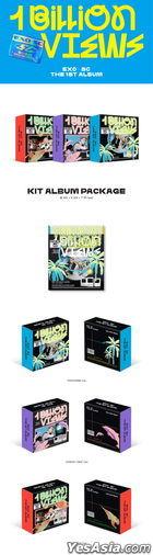 EXO-SC Vol. 1 - 1 Billion Views (KiT Album) (PARK VIEW Version) + Poster in Tube (PARK VIEW Version)