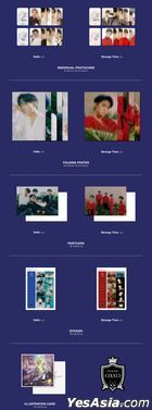 CIX EP Album Vol. 3 - 'HELLO' Chapter 3. Hello, Strange Time (Strange Time Version) + Poster in Tube (Strange Time Version)