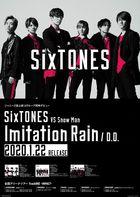 Imitation Rain / D.D. (SINGLE + DVD) (with Snow Man Edition) (SINGLE +POSTER) (Taiwan Version)