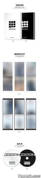 DRIPPIN Mini Album Vol. 1 - Boyager (B Version) + Random Poster in Tube + First Press Poster Set (Special Version)