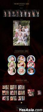 Twice Mini Album Vol. 9 - MORE & MORE (B Version) + First Press Photo Card Set B + Poster in Tube B