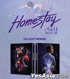 Homestay (Blu-ray) (Full Slip Outcase + Character Card + Postcard Numbering Limited Edition) (Korea Version)