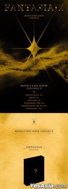 Monsta X Mini Album - FANTASIA X (Kihno KiT Album)