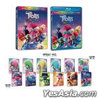 Trolls World Tour (2D + 3D Blu-ray) (First Press Slip Case + Troll Character Cards) (Limited Edition) (Korea Version)