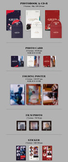 Kim Woo Seok Solo Album Vol. 1 - 1st Desire [GREED] (S Version) + Poster in Tube (S Version)