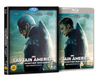 Captain America: The Winter Soldier (2014) (Blu-ray) (2D) (Korea Version)