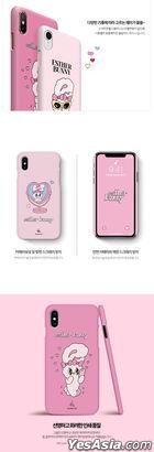 Esther Bunny Slim Hard Case (Love Love Bunny) (Galaxy S9 Plus)