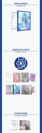 Lovelyz: Ryu Su Jeong Mini Album Vol. 1 - Tiger Eyes + Random Poster in Tube