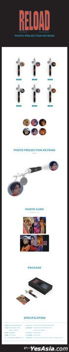 NCT DREAM - Photo Projection Key Ring (Hae Chan Version)