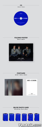 CNBLUE Mini Album Vol. 8 - RE-CODE (Standard Version)