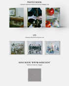 GFRIEND Mini Album Vol. 9 - Song of the Sirens (Broken Room + Tilted + Apple Version) + 3 First Press Photo Card Sets + 3 Posters in Tube