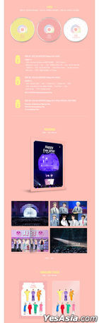 BTS 4th MUSTER Happy Ever After (Blu-ray) (3-Disc) (Outbox + Photobook + Embossing Sticker) (Korea Version)