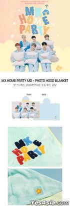 Monsta X 2020 Fan Concert 'MX Home Party' Official Goods - Photo Hoodie Blanket