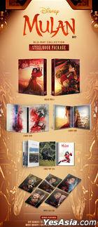 Mulan (2020) (Blu-ray) (Steelbook Limited Edition) (Korea Version)