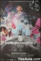 Amazing World Live 2011 Karaoke (3DVD) (With Album Poster)