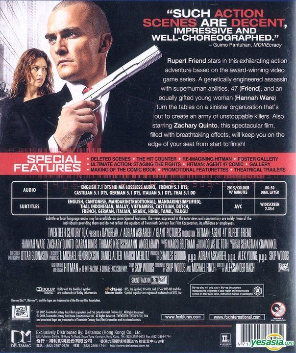 Yesasia Hitman Agent 47 2015 Blu Ray Hong Kong Version Blu