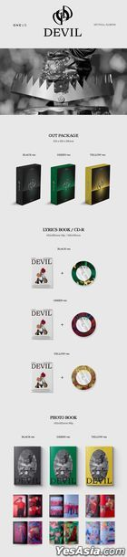 ONEUS Vol. 1 - DEVIL (Green Version)