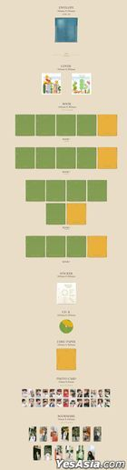 Seventeen Mini Album Vol. 7 - Heng:garae (HANA Version / Random Version)