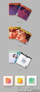 EXO: Baek Hyun Mini Album Vol. 2 - Delight (Random Version) (KiT Album) + Random Poster in Tube