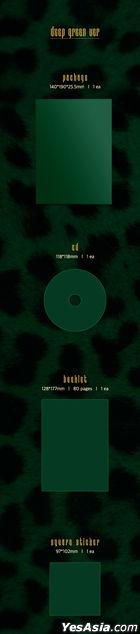 Mamamoo Mini Album Vol. 10 - TRAVEL (deep green Version)