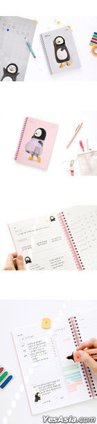 Pengsoo Study Planner for 100 Days (White Gray)