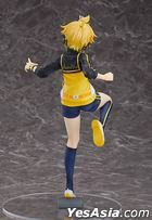 Hatsune Miku -Project DIVA- F 2nd : Kagamine Len Stylish Energy L Ver. 1:7 Pre-painted PVC Figure