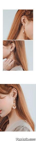 Kpop Style - Althio Ear Cuff (Dot) (Silver)