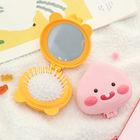 Kakao Friends Little Beauty hand Mirror Comb Set (Apeach)
