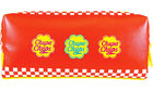 Chupa Chups Double Fastener Pen Pouch (Checker)