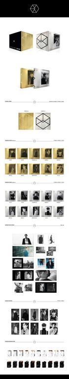 EXO Vol. 2 - Exodus (Chinese Version) (Random Version) + Random Poster