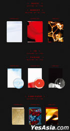 (G)I-DLE Mini Album Vol. 4 - I burn (Fire Version) + Poster in Tube (Fire Version)