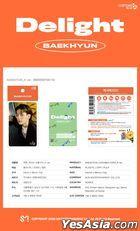 EXO: Baek Hyun - Cashbee Card (A Version)
