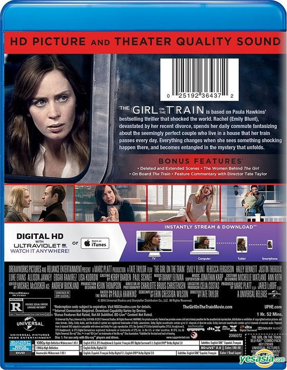 watch the girl on the train free streaming