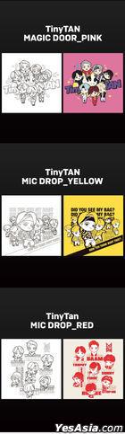 BTS - TinyTAN DIY Painting (MIC Drop) (Yellow)