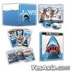 Jaws (1975) (4K Ultra HD + Blu-ray Steelbook) (45th Anniversary Limited Edition) (Taiwan Version)