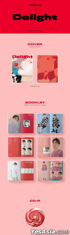 EXO: Baek Hyun Mini Album Vol. 2 - Delight (Chemistry Version) + 2 Posters in Tube (Chemistry Version)