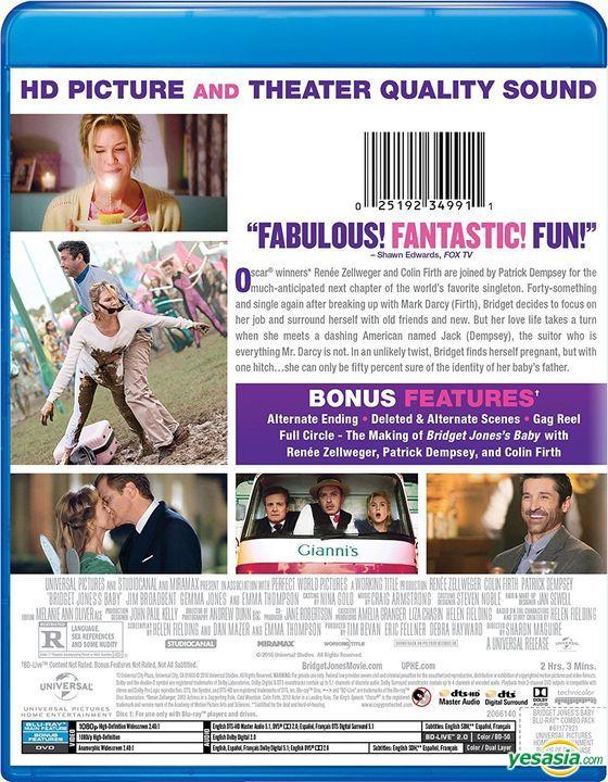 Yesasia Bridget Jones S Baby 2016 Blu Ray Dvd Us Version Blu Ray Jones Gemma Jim Broadbent Universal Studios Home Video Western World Movies Videos Free Shipping North America Site