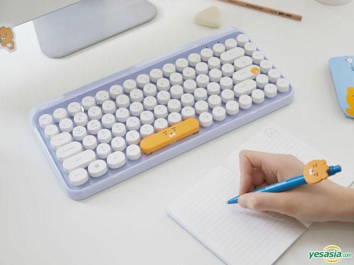 Gift Kakao Friends Ryan Retro Mini Wireless Keyboard