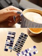 Korean Pattern Nail Wraps B