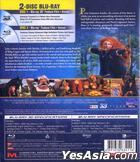 Brave (2012) (Blu-ray) (2D + 3D) (Hong Kong Version)