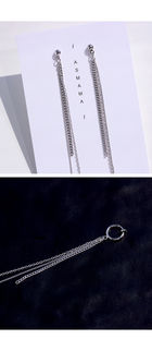 BTS : V Style - Carmen Single Ring Ear Cuff
