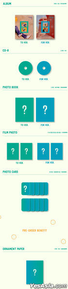 Jeong Se Woon Vol. 1 - 24 Part.1 (TO + FOR Version) + 2 Posters in Tube