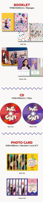 Weeekly Mini Album Vol. 2 - WE CAN (Random Version)