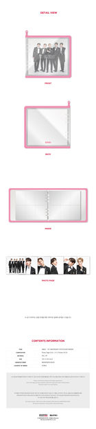 AB6IX 1st ABIVERSARY Fanmeeting Official Goods - Photo Card Binder