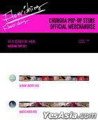 Chung Ha 'Flourishing' Official Goods - Masking Tape Set