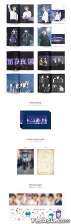 BTS 5th Muster MAGIC SHOP (DVD) (4-Disc + Photobook + Pop-Up Box + Invitation Card + Photo Card) (Korea Version)