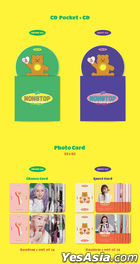 Oh My Girl Mini Album Vol. 7 - NONSTOP (Chance + Quest Version) + Poster in Tube