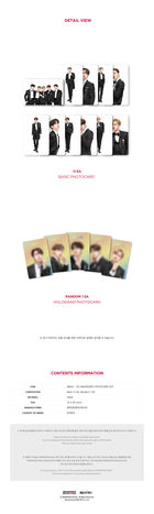 AB6IX 1st ABIVERSARY Fanmeeting Official Goods - Photo Card Set
