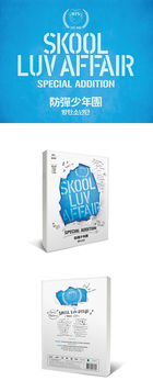 BTS Mini Album Vol. 2 - Skool Luv Affair (CD + 2DVD) (Special Edition) (Limited Edition) (Reissue) + Poster in Tube