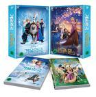 Frozen + Tangled (DVD) (2-Disc) (Korea Version)